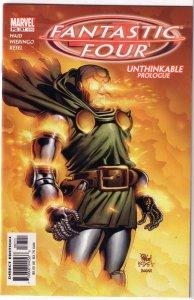 Fantastic Four (vol. 3, 1998) #67/496 VF (Unthinkable prol.) Waid/Wieringo