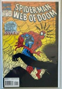 Spider-Man web of doom #1 8.0 VF (1994)