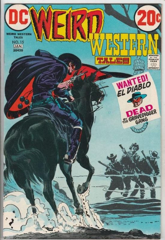 Weird Western Tales #15 (Oct-72) NM- High-Grade Jonah Hex