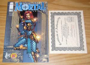 More Than Mortal: Otherworlds #1 VF/NM dynamic forces variant w/COA (593/3,000)