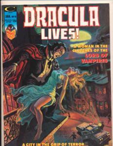 Dracula Lives! #10, VF+ (Actual scan)