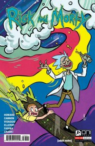 RICK and MORTY #33, 1st, NM, Grandpa, Oni Press,from Cartoon, 2015, Variant