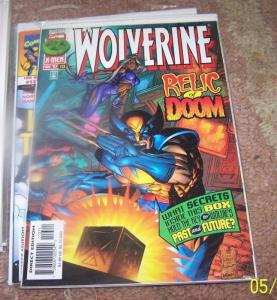 WOLVERINE #113  MARVEL OGUN RELIC OF DOOM  X-MEN