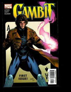 Lot of 12 Gambit Marvel Comics # 1 2 3 4 5 6 7 8 9 10 11 12 feat. Wolverine EK6