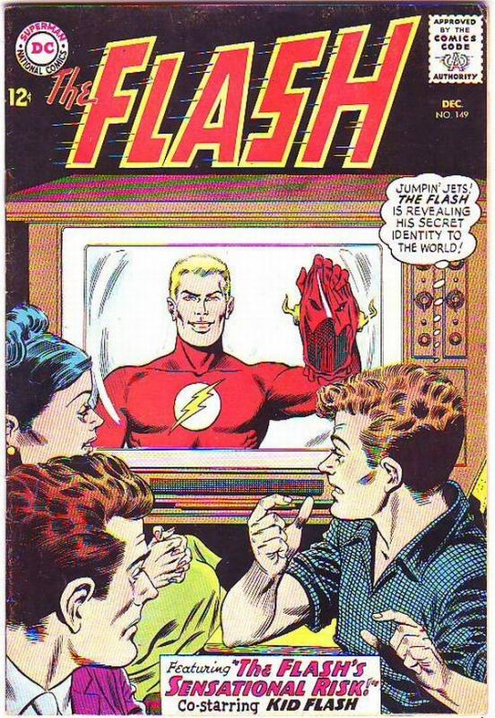 Flash, The #149 (Dec-64) VF High-Grade Flash