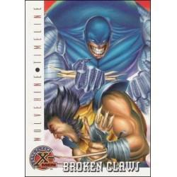 1996 Fleer X-Men BROKEN CLAWS #88