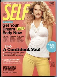 Self March 2009- TAYLOR SWIFT- Glamour Magazine VF