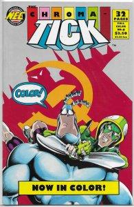 Chroma-Tick   # 6 FN (New England Comics) Edlund/Garcia