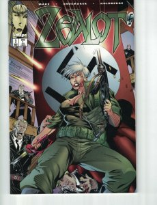 Zealot #3 rare error duplicate interior pages - Image comics - Wildcats spin-off
