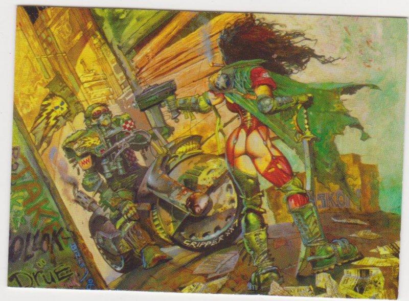 1997 Heavy Metal Fakk 2 Rough Cut Promo Card