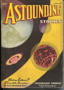 Astounding Stories 8/1937-Clayton-sci-fi pulp thrills-G