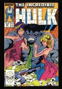 Incredible Hulk (1962) #347 FN/VF 7.0 1st Mr. Joe Fix-It!