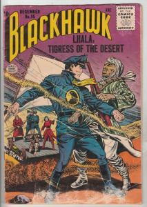 Blackhawk #95 (Dec-55) VG Affordable-Grade Black Hawk, Chop Chop, Olaf, Pierr...
