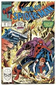 Web Of Spider-man #43 1988- Marvel comics NM-