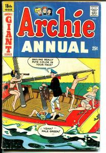 Archie Annual #18 1966-Betty-Veronica-Giant Issue-VG