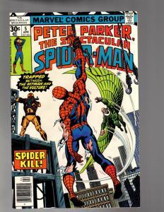 PETER PARKER 5 FINE-VERY FINE  April 1977