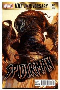 100th Anniversary Special: Spider-Man #1 2014 Variant cover-Venom!