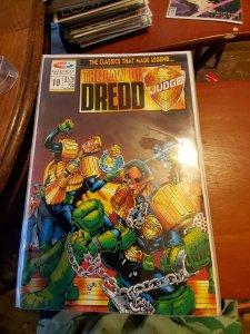 The Law of Dredd #10 (1990)