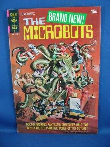 THE MICROBOTS 1 VF+ 1971