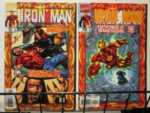 IRON MAN (1998) 9-10 Revenge of the MANDARIN