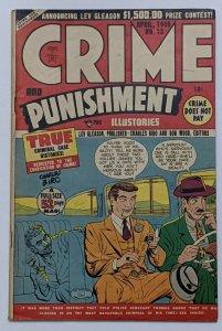 Crime And Punishment #13 (Apr 1949, Lev Gleason) FN- 5.5 Charles Biro cover