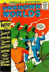 Unknown Worlds #26 VG; ACG | low grade comic - save on shipping - details inside