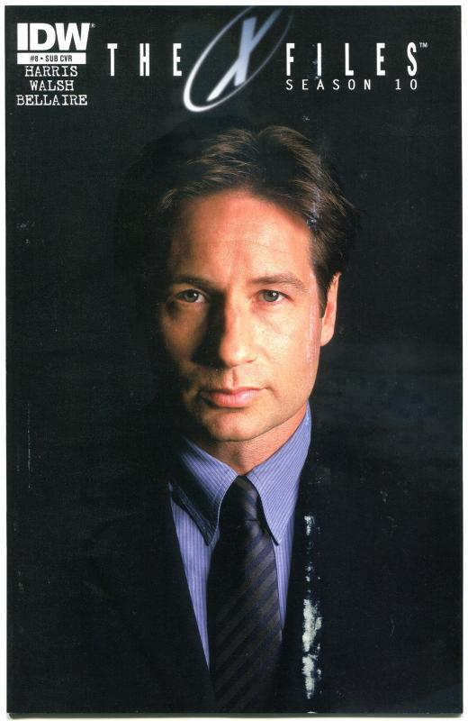 X-FILES Season 10 #8, FN+, Fox Mulder, Dana Scully, 2013, more XF in store