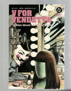 V For Vendetta Complete DC Comics LTD Series # 1 2 3 4 5 6 7 8 9 10 A. Moore SB5