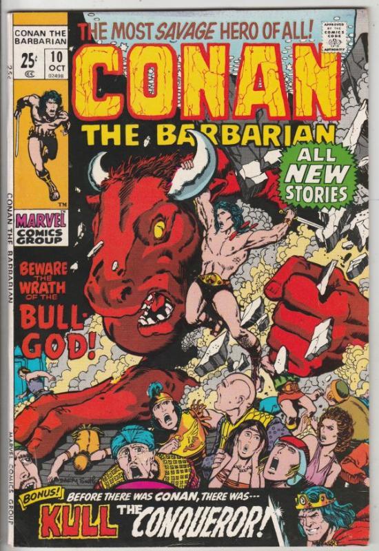 Conan the Barbarian #10 (Oct-71) NM/NM- High-Grade Conan the Barbarian