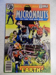 MICRONAUTS # 2 MARVEL SCI-FI ACTION ADVENTURE