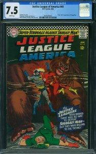 Justice League of America #45 (DC, 1966) CGC 7.5