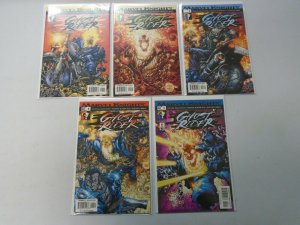 Marvel Knights Ghost Rider Run: #1-5 Near Mint (2001)