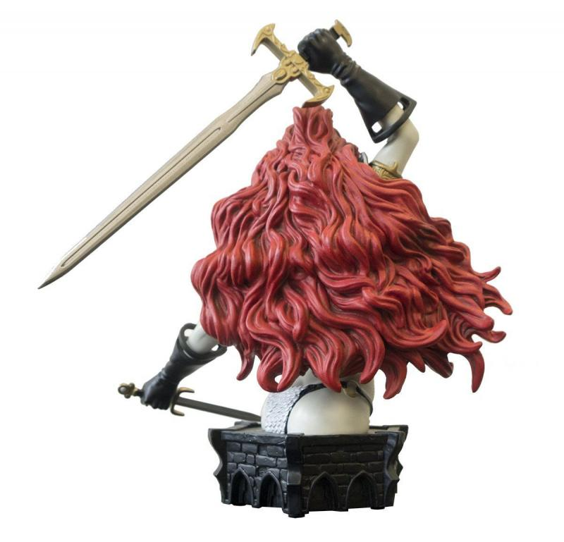Women Of Dynamite Red Sonja Bust by Adams B&W Variant Ltd Edition #195/299 New!