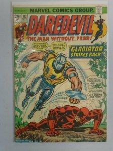 Daredevil #113 6.0 FN (1974 1st Series)