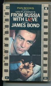 FROM RUSSIA WITH LOVE-IAN FLEMING-007-JAMES BOND-Y236-PAN BOOK-vg