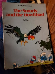 smurfs and the howling bird
