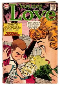 YOUNG LOVE #44 comic book-DC ROMANCE-BETRAYAL-GREAT ISSUE