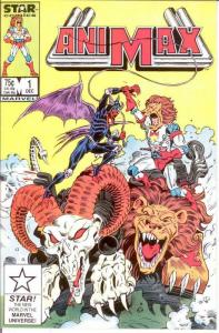 ANIMAX (1986) 1 VF Dec. 1986 STAR comics getting scarce COMICS BOOK
