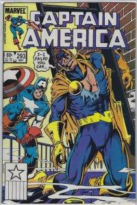 Captain America #293 (1984)