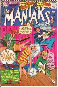 SHOWCASE 69 G+ MANIAKS    August 1967 COMICS BOOK