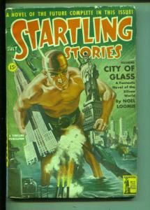 Startling Stories-7/1942-Earle K.Bergey-Noel Loomis-Kennie McDowd