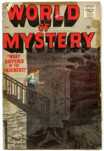 World of Mystery 4 Dec 1956 GD-VG (3.0)