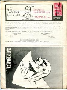 Fan Informer #22 1975-AM Jones-Rick Buckler-newsletter format-VG