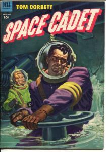 Tom Corbett Space Cadet #6 1953-Dell-dinosaur-sc-fi thrills-FN/VF