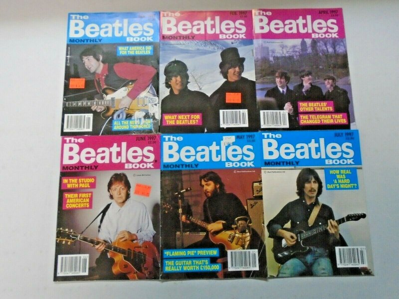 Beatles Book Monthly Magazine Lot 17 Different (1997-1998)