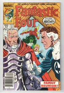 FANTASTIC FOUR 272,273 NM 9.0-9.6 1st FULL AND CAMEO NATHANIAL RICHARDS! HOT!!!