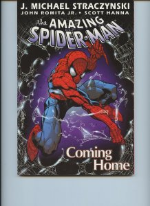AMAZING SPIDER-MAN: Coming Home (Marvel, Softcover) First edition