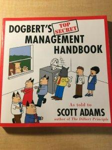 Dogbert's Top Secret Management Handbook Harper Buisness Comic Book TPB MFT2
