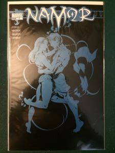 Namor #7 metallic blue on cover