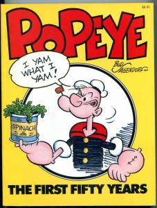 Popeye: The First Fifty Years Paperback 1979- Segar- Sagendorf